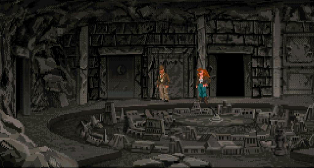 Minotaurov labyrint a model Atlantídy