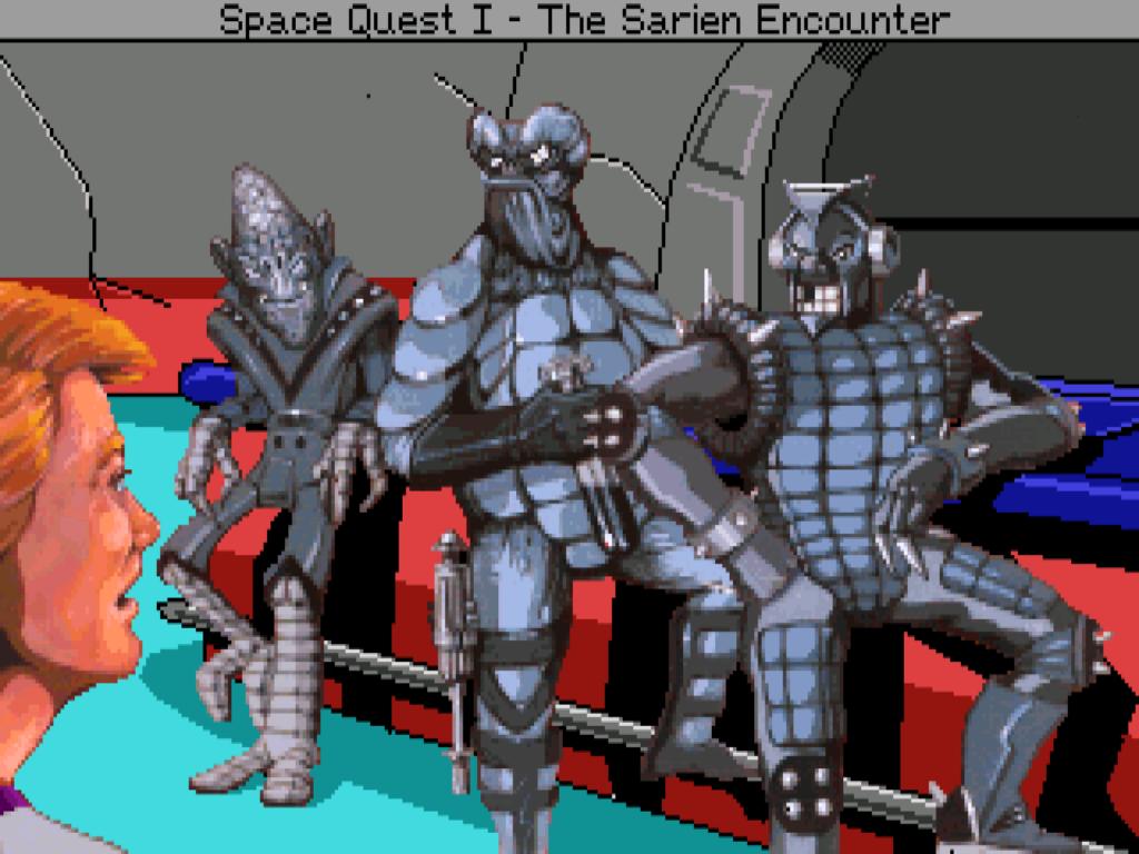 Monochromatici ktorým sa nepáči že je Roger VGA.